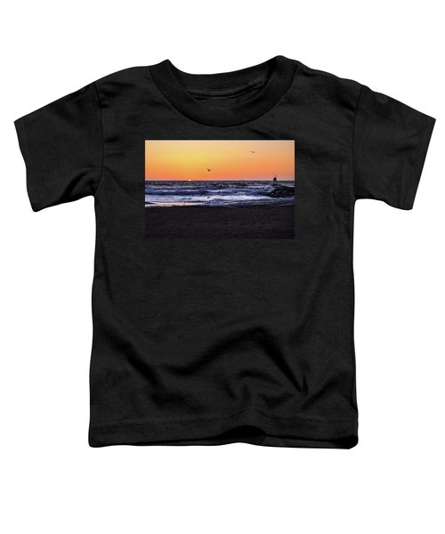 Birds At Sunrise Toddler T-Shirt