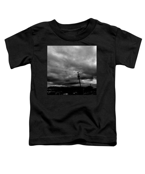 Birds On A Wire 2018 Toddler T-Shirt