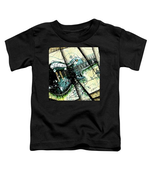 Black Beauty C 1  Toddler T-Shirt by Gary Bodnar