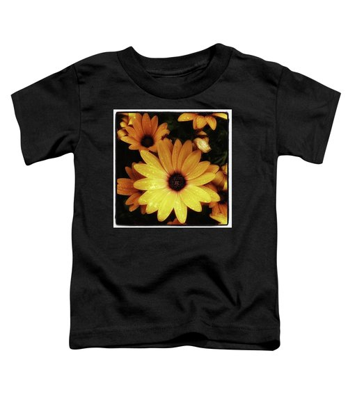 Toddler T-Shirt featuring the photograph Black Eyed Susans. Looks Like They're by Mr Photojimsf