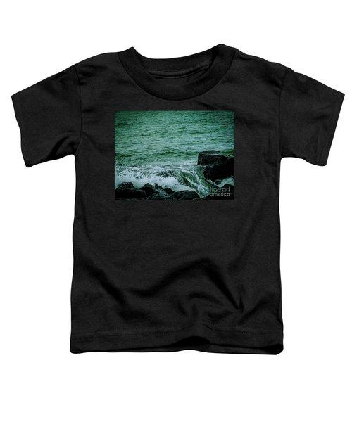 Black Rocks Seascape Toddler T-Shirt