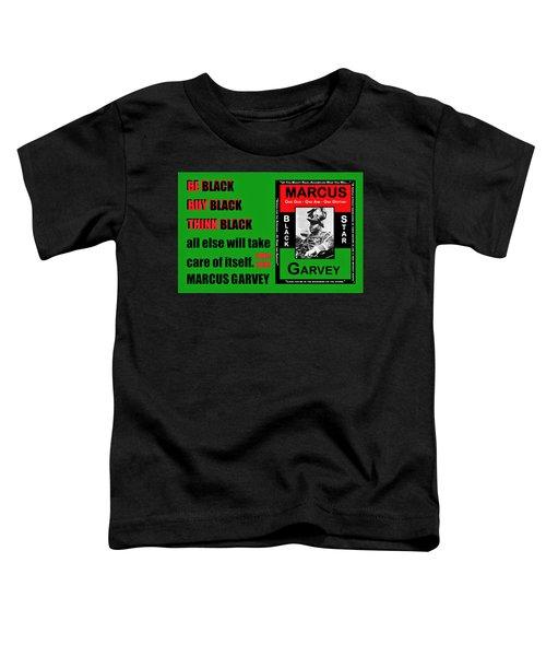 Black Star Garvey Toddler T-Shirt
