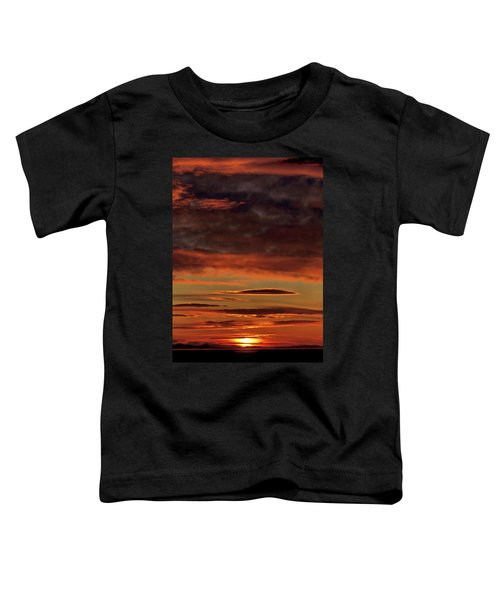 Blazing Sunset Toddler T-Shirt