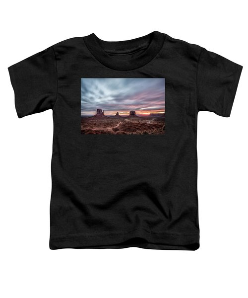 Blended Colors Over The Valley Toddler T-Shirt