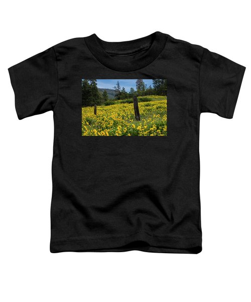 Blooming Fence Toddler T-Shirt