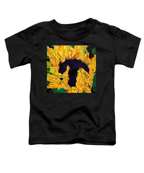 Blossomonious Yellow Trip Toddler T-Shirt