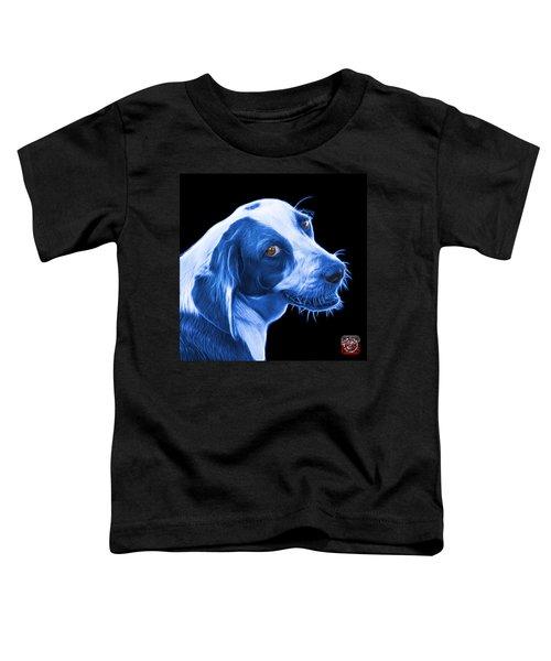 Blue Beagle Dog Art- 6896 - Bb Toddler T-Shirt