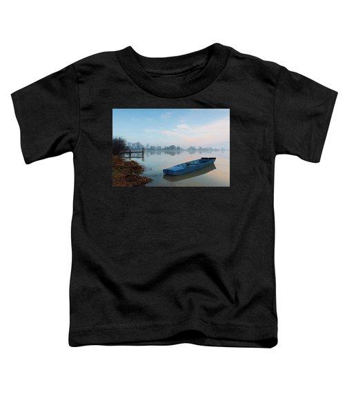 Blue Boat Toddler T-Shirt