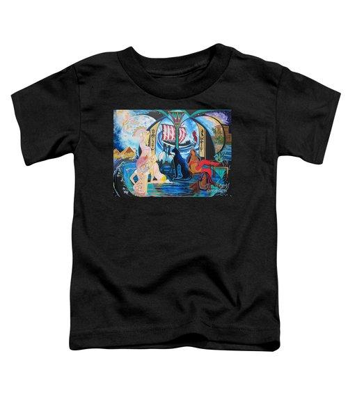 Five Celestial Celebrations                                        Blaa Kattproduksjoner  -  Toddler T-Shirt