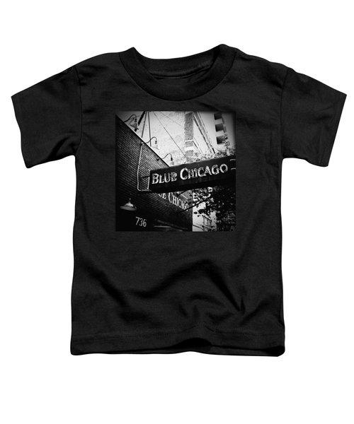 Blue Chicago Nightclub Toddler T-Shirt