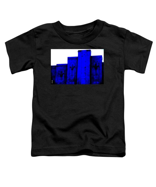 Blue Deco Toddler T-Shirt