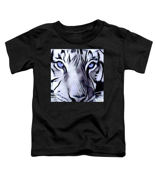 Blue Eyed Tiger Toddler T-Shirt