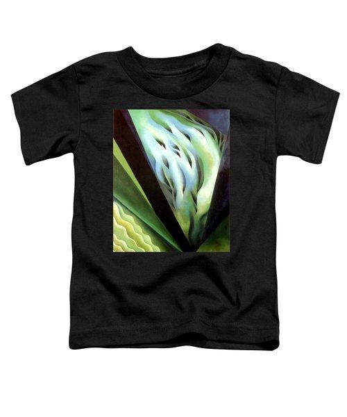 Blue Green Music Toddler T-Shirt