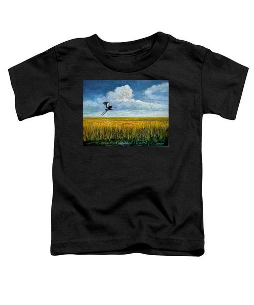 Blue Heron Toddler T-Shirt