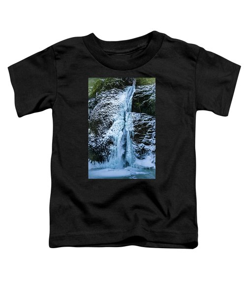 Blue Ice And Water Toddler T-Shirt