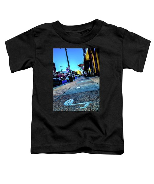 Blue Notes On Beale Toddler T-Shirt
