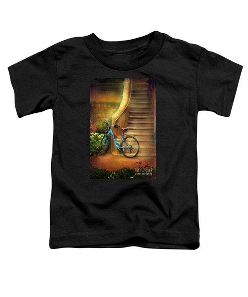 Blue Taos Bicycle Toddler T-Shirt