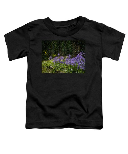 Toddler T-Shirt featuring the photograph Bluebells In Kilrush Town by James Truett