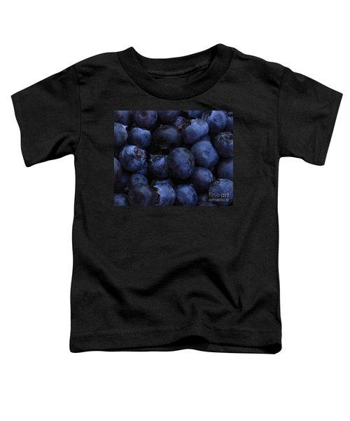 Blueberries Close-up - Horizontal Toddler T-Shirt