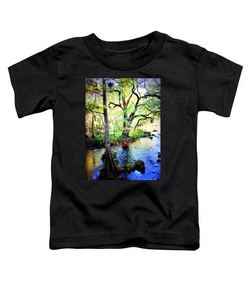 Blues In Florida Swamp Toddler T-Shirt