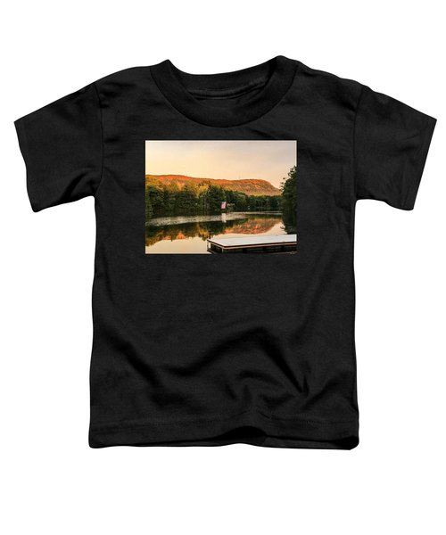 Boardwalk Sunset Toddler T-Shirt