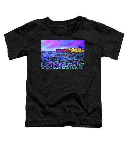 Boats In Cadiz, Spain Toddler T-Shirt