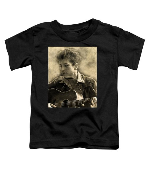 Bob Dylan Toddler T-Shirt