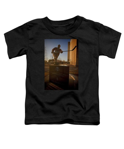 Bobby Hull Sculpture Toddler T-Shirt