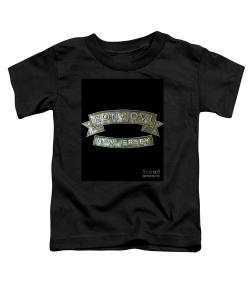 Bon Jovi New Jersey Toddler T-Shirt