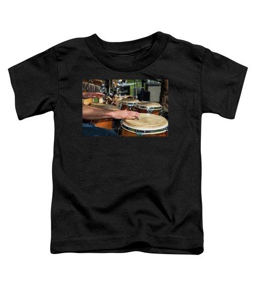 Bongo Hand Drums Toddler T-Shirt