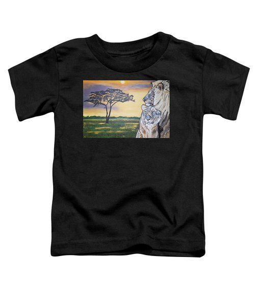 Bonnie And Clyde Toddler T-Shirt