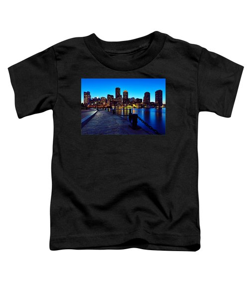 Boston Harbor Walk Toddler T-Shirt
