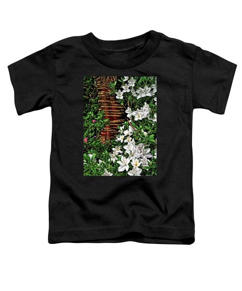 Botanic Garden Flowers Toddler T-Shirt