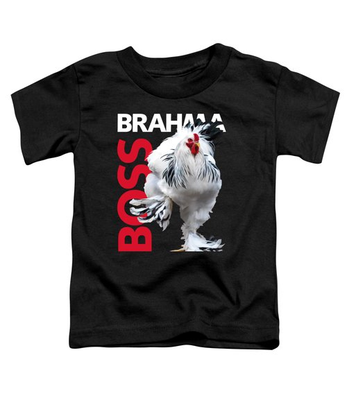Brahma Boss T-shirt Print Toddler T-Shirt