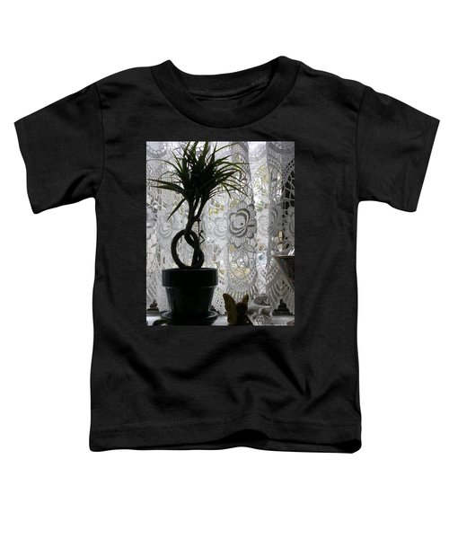 Braided Dracena On Sill Toddler T-Shirt