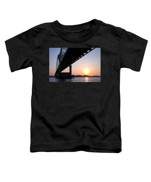 Bridge Over Mississippi River Toddler T-Shirt