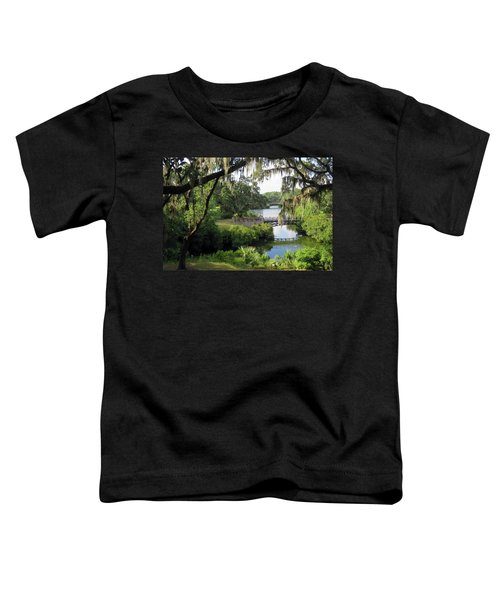 Bridges Over Tranquil Waters Toddler T-Shirt