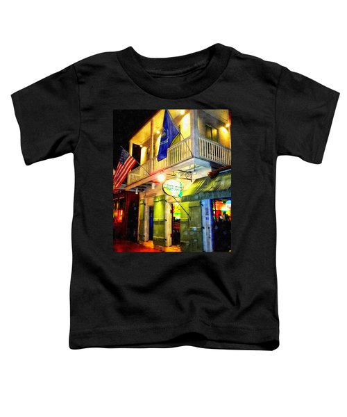 Bright Lights In The French Quarter Toddler T-Shirt