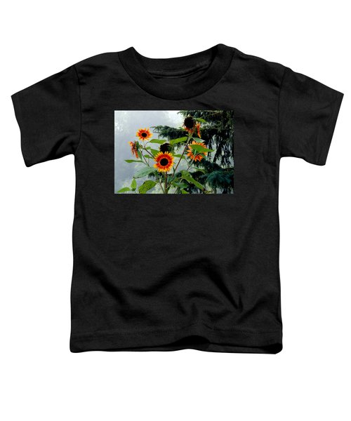 Bright Spots On A Foggy Morning Toddler T-Shirt