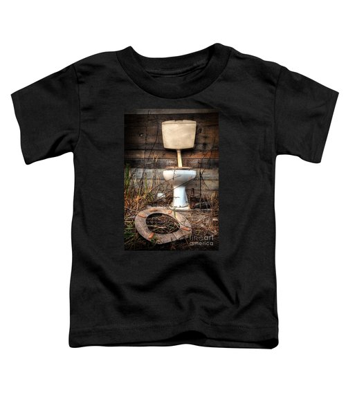 Broken Toilet Toddler T-Shirt