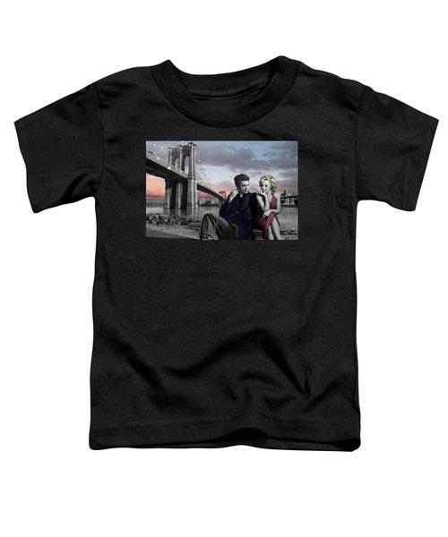 Brooklyn Bridge Toddler T-Shirt by Chris Consani