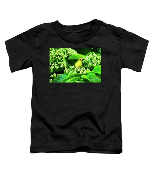 Brown Neck Sunbird Toddler T-Shirt