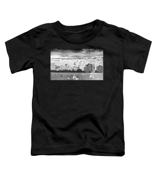 Bubbles And The City Toddler T-Shirt