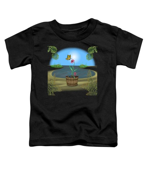 Bucket Butterfly Toddler T-Shirt