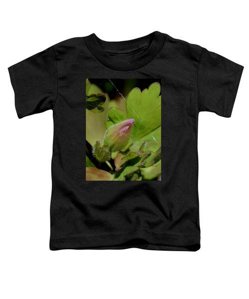 Bud And Spider Silk Toddler T-Shirt