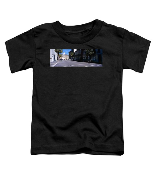 Buildings On Both Sides Of A Road Toddler T-Shirt