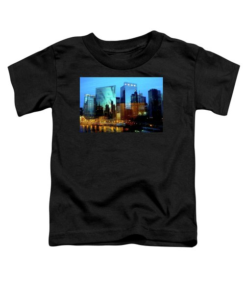 Reflections On The Canal Toddler T-Shirt
