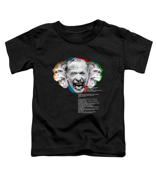 Bukowski's Beast Toddler T-Shirt by The Boy 2017