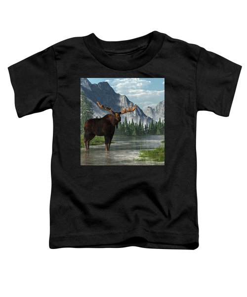 Bull Moose Toddler T-Shirt