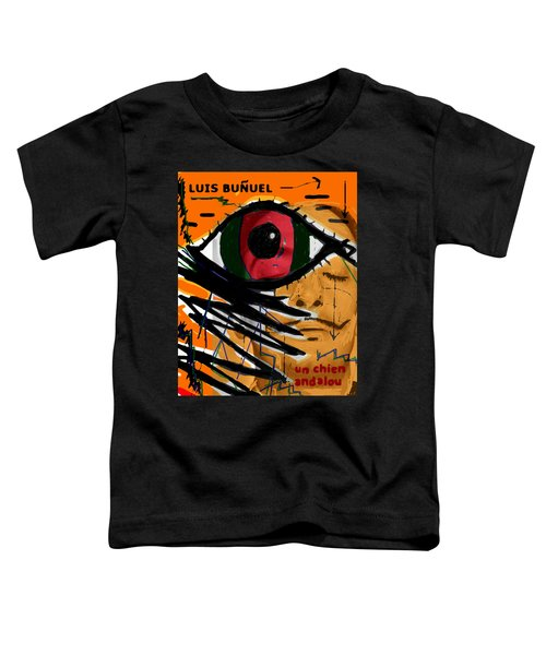 Bunuel Chien Andalou Poster  Toddler T-Shirt